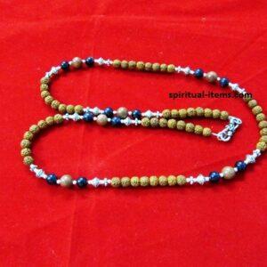 Rudraksha Blue And Brown Sunstone
