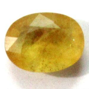 Yellow Sapphire (5.97) Cts.