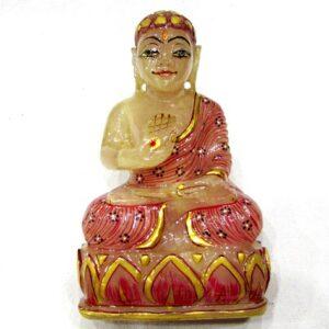 Budha In Natural Rose Quartz